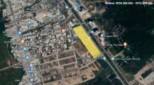 Vị trí khu đất mà Keppel Land sẽ làm dự án Celesta Rise.